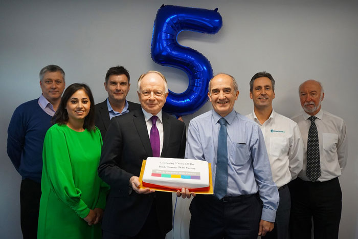Black Country Skills Factory fifth anniversary celebration